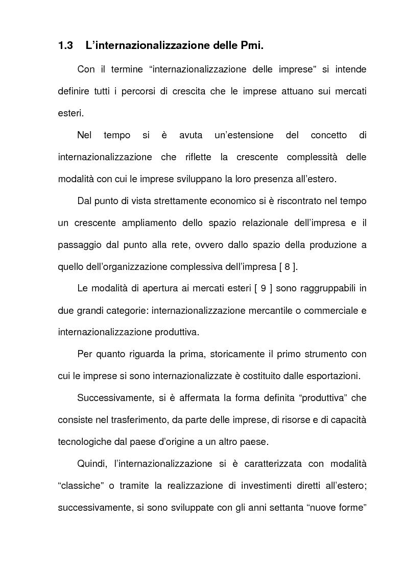 Anteprima della tesi: L'azione dell'Unione Europea a favore delle Piccole e Medie Imprese, Pagina 9