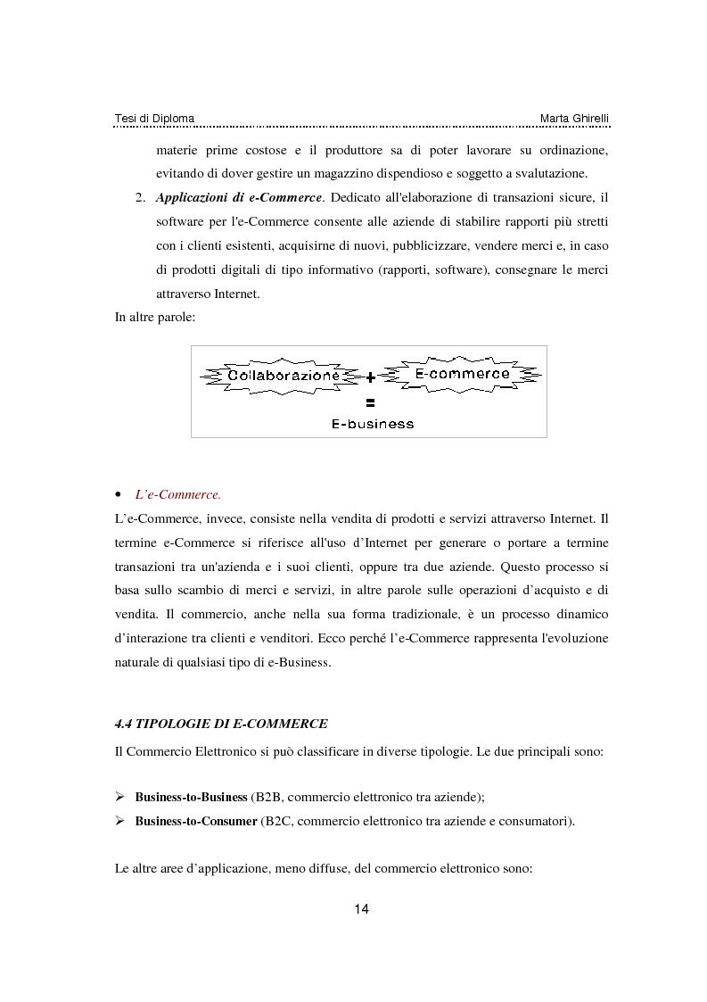 Anteprima della tesi: Commercio elettronico. Progettazione e sviluppo di un negozio on line., Pagina 10