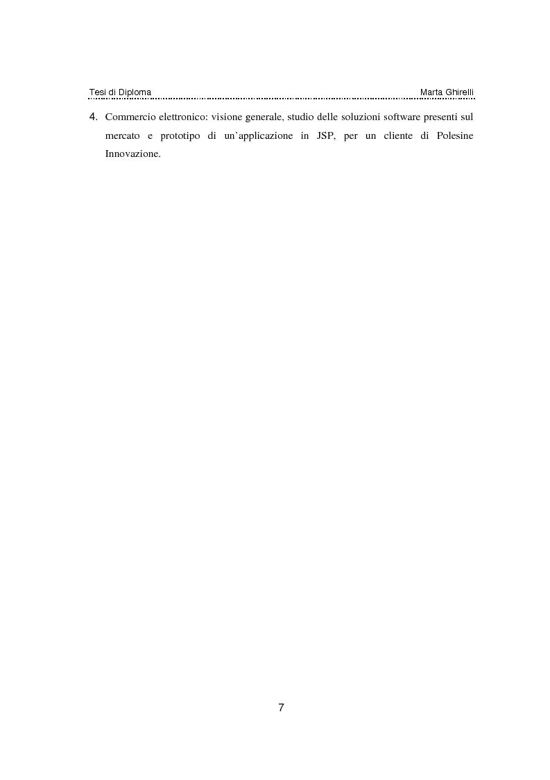 Anteprima della tesi: Commercio elettronico. Progettazione e sviluppo di un negozio on line., Pagina 3