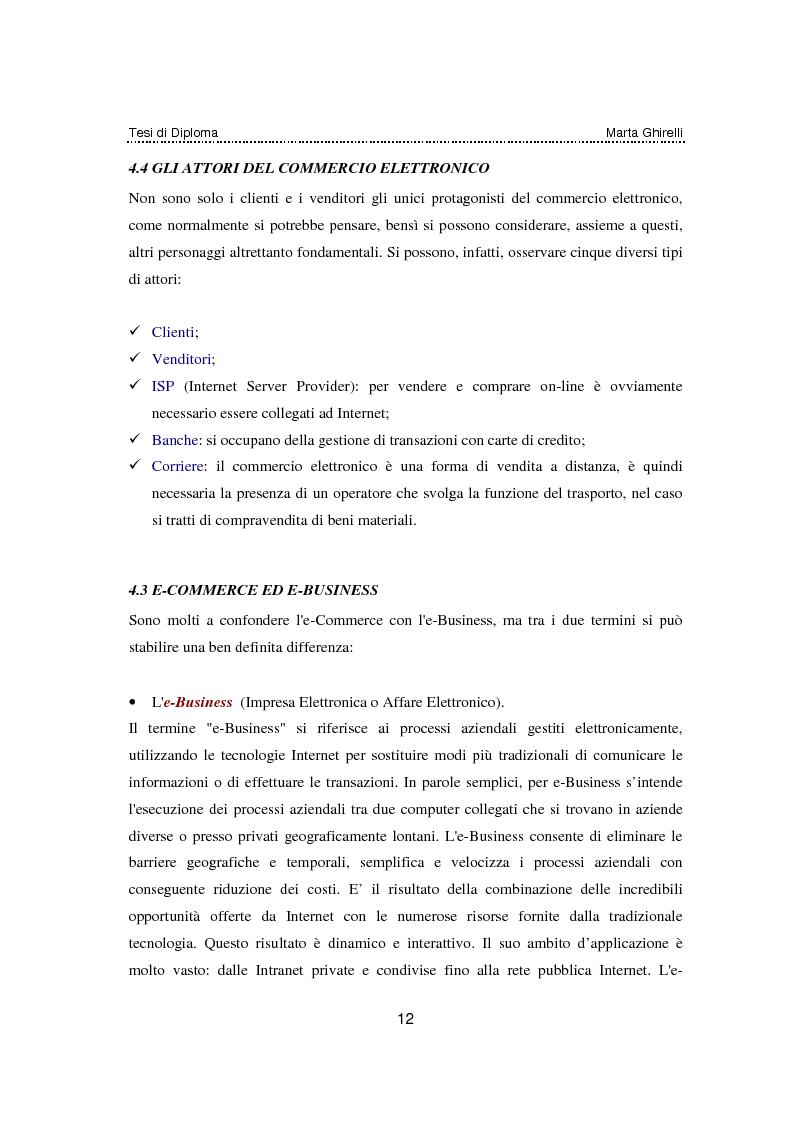 Anteprima della tesi: Commercio elettronico. Progettazione e sviluppo di un negozio on line., Pagina 8