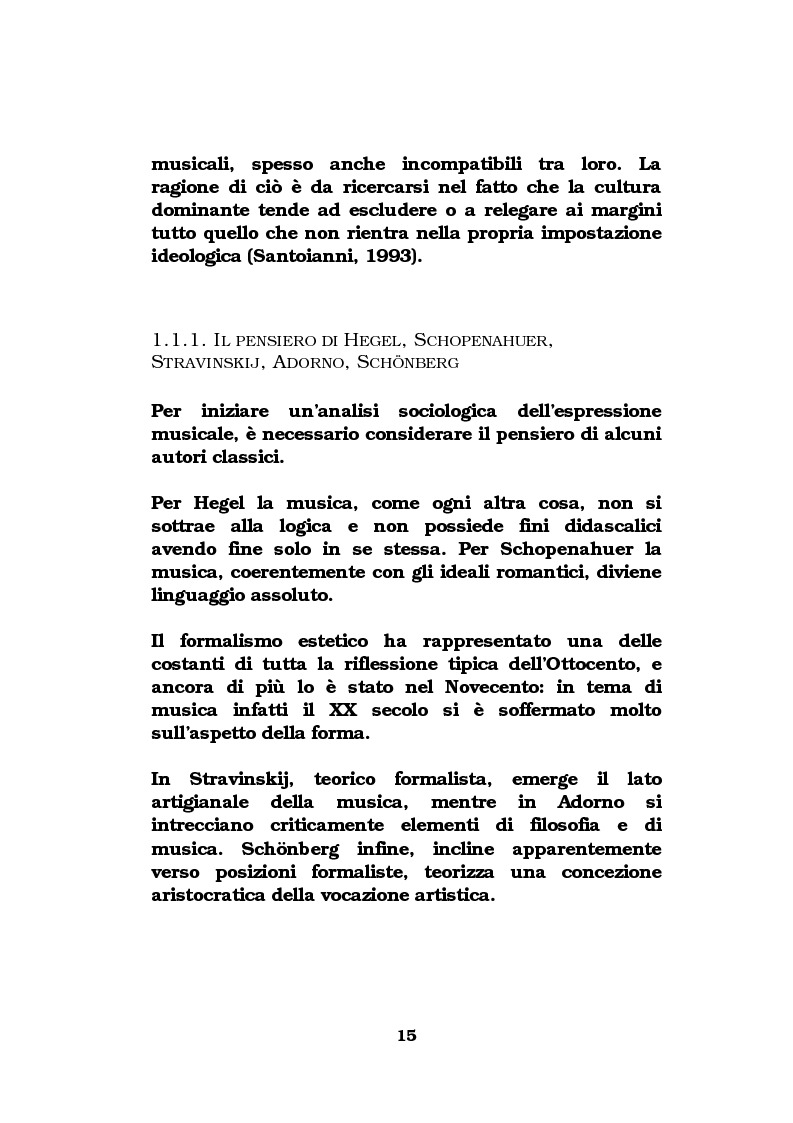 Anteprima della tesi: La musica come strumento di comunicazione aziendale, Pagina 10