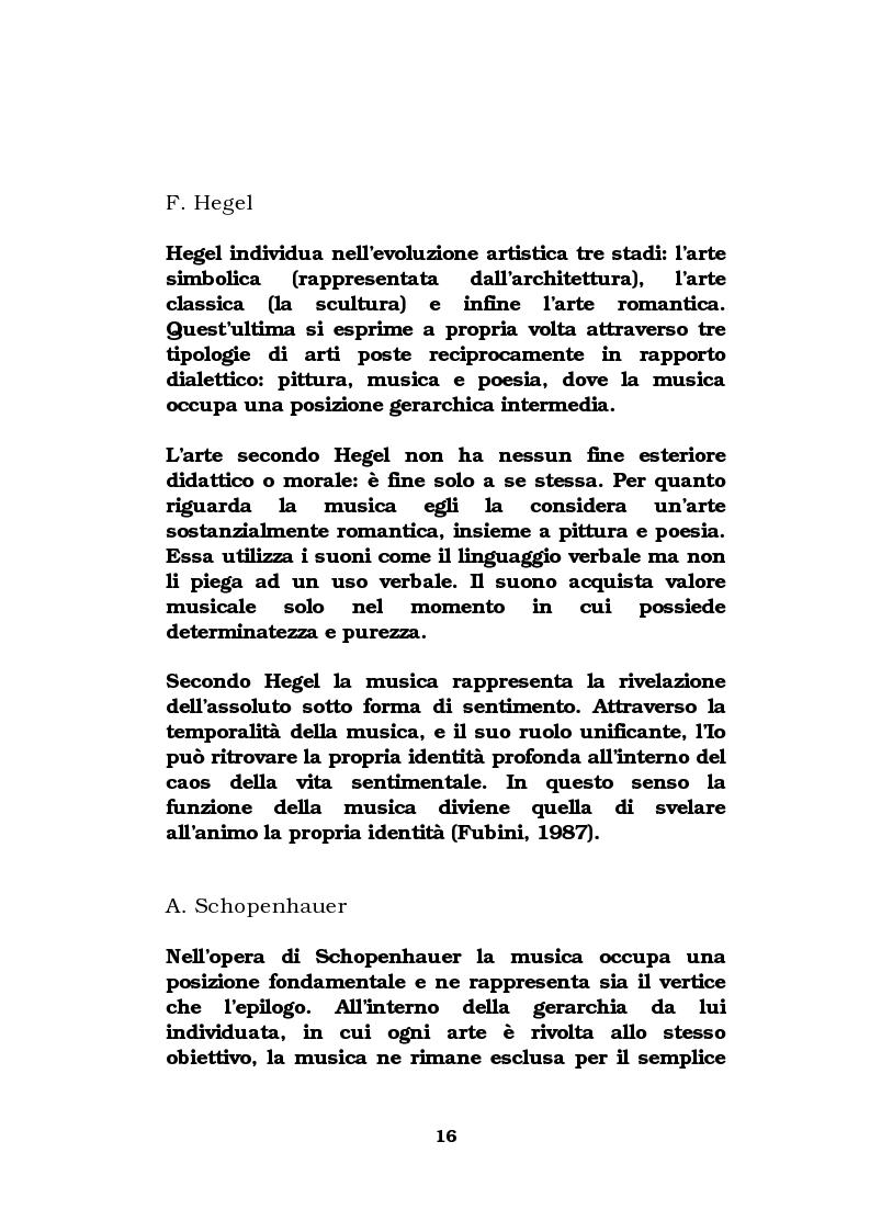 Anteprima della tesi: La musica come strumento di comunicazione aziendale, Pagina 11