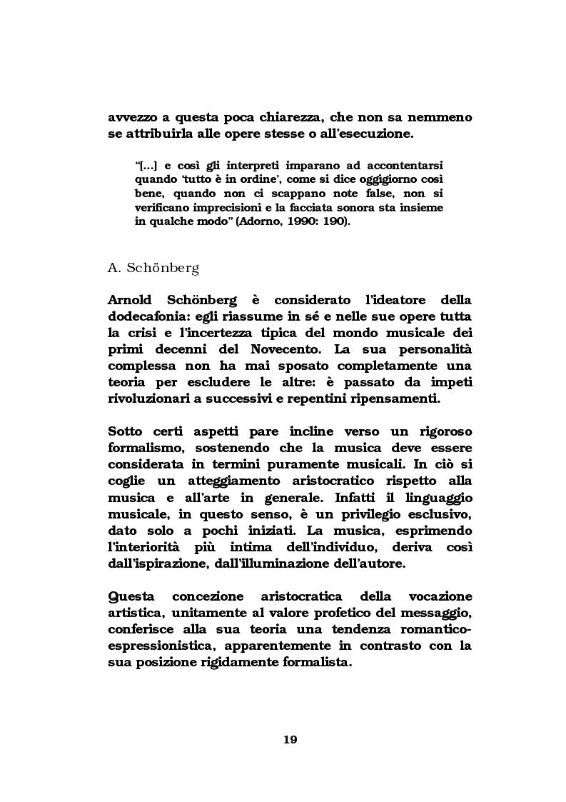 Anteprima della tesi: La musica come strumento di comunicazione aziendale, Pagina 14