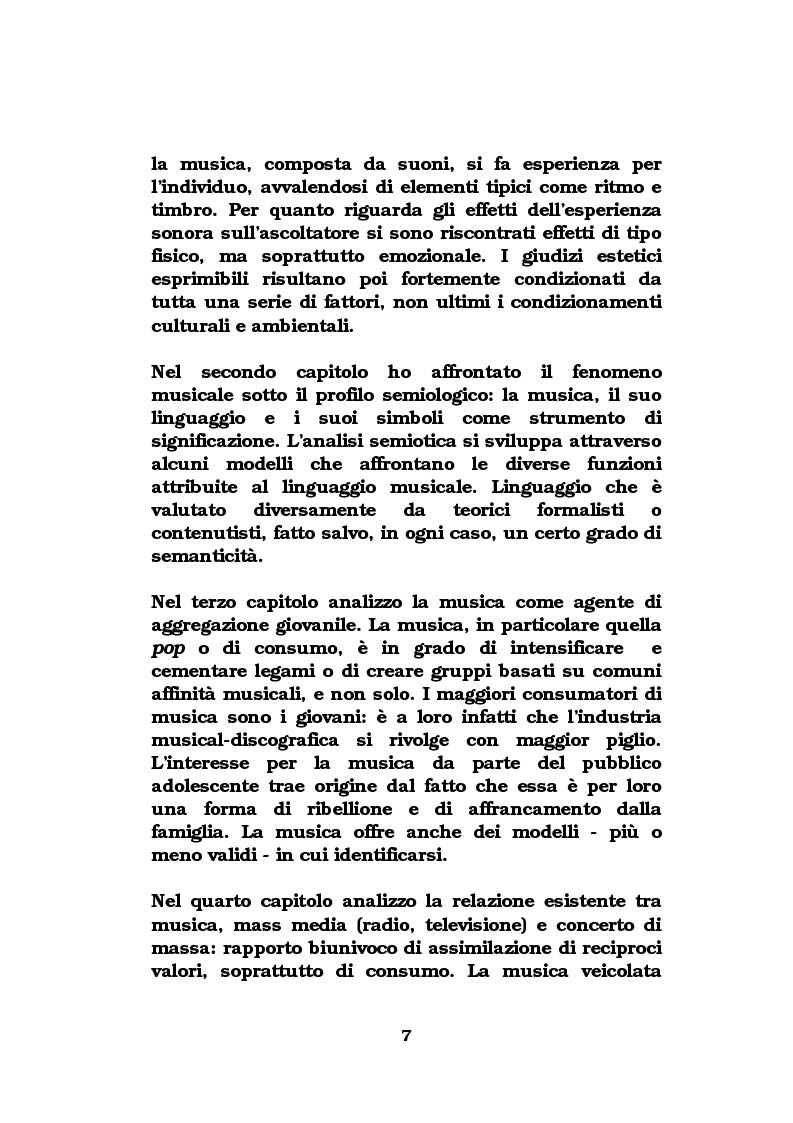 Anteprima della tesi: La musica come strumento di comunicazione aziendale, Pagina 2