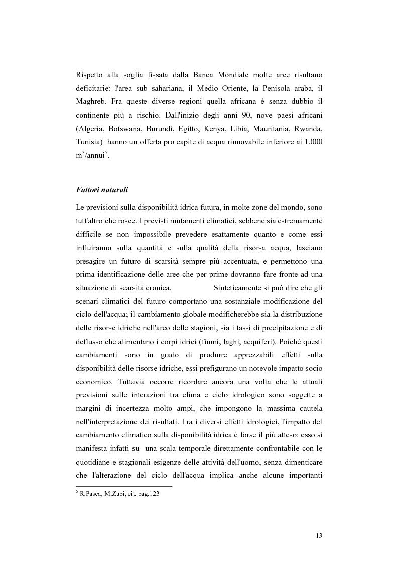 Anteprima della tesi: L'acqua come motivo di conflitto: il caso turco siriano, Pagina 11
