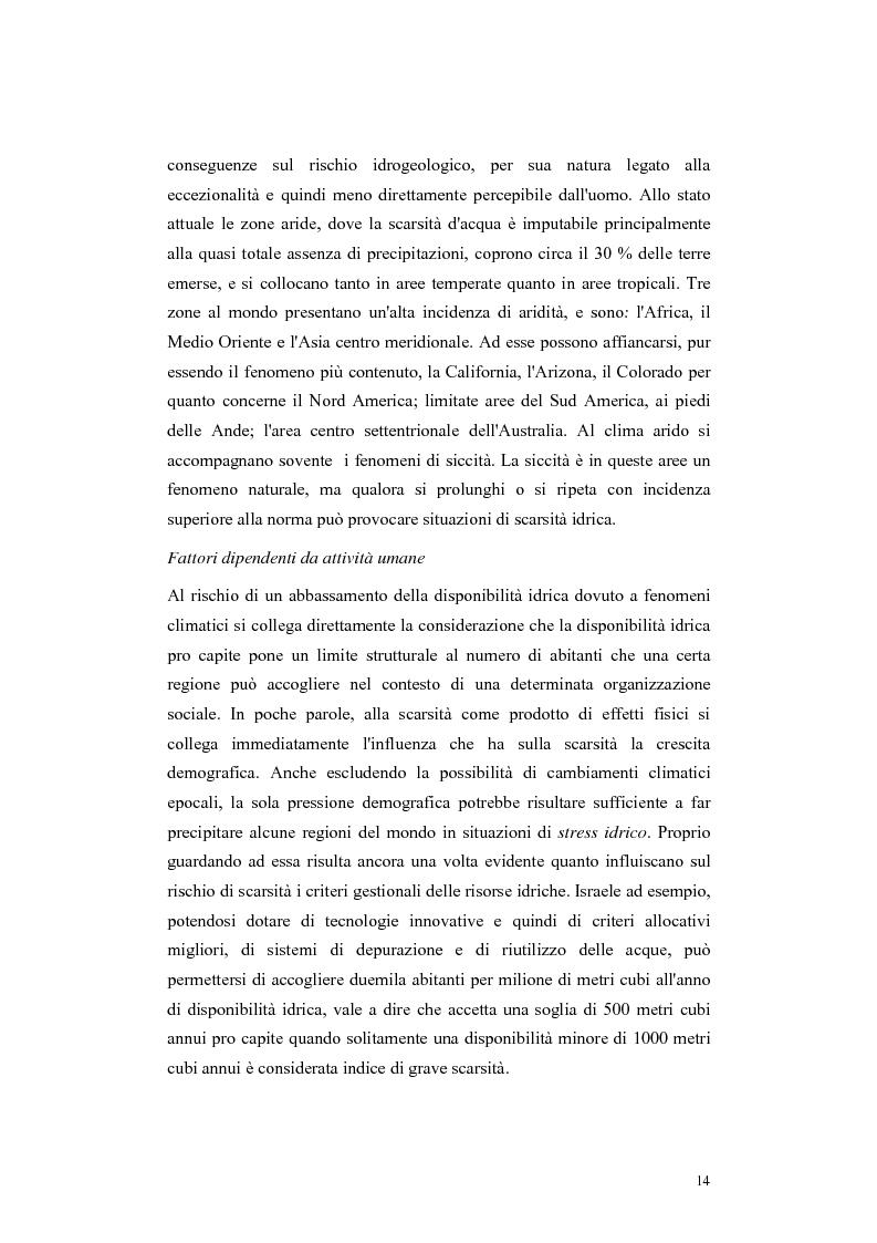 Anteprima della tesi: L'acqua come motivo di conflitto: il caso turco siriano, Pagina 12