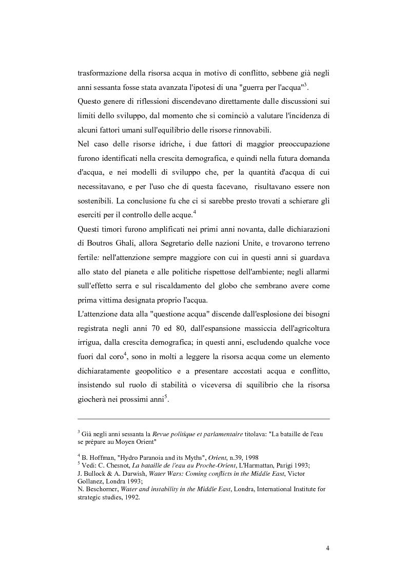 Anteprima della tesi: L'acqua come motivo di conflitto: il caso turco siriano, Pagina 2
