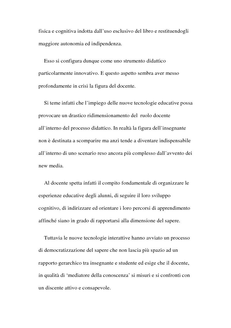 Anteprima della tesi: Ipertesto: problematiche relative alla formazione, Pagina 3