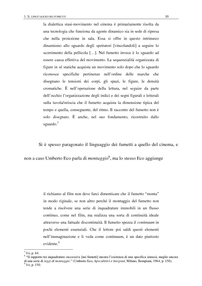 Anteprima della tesi: Dylan Dog; ovvero: come navigare nei saperi di ogni tempo e cultura, Pagina 8