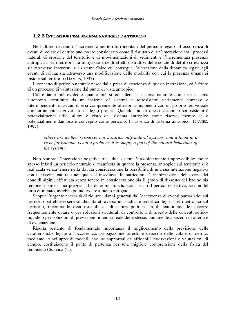 Anteprima della tesi: Correnti iperconcentrate in ambiente montano: aspetti modellistici, Pagina 4