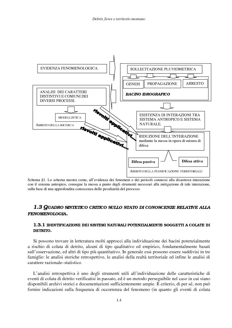 Anteprima della tesi: Correnti iperconcentrate in ambiente montano: aspetti modellistici, Pagina 5