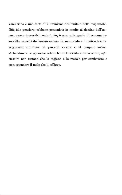 Anteprima della tesi: La rivolta della coscienza e il tentativo di soluzione del nichilismo nel pensiero di Albert Camus, Pagina 3
