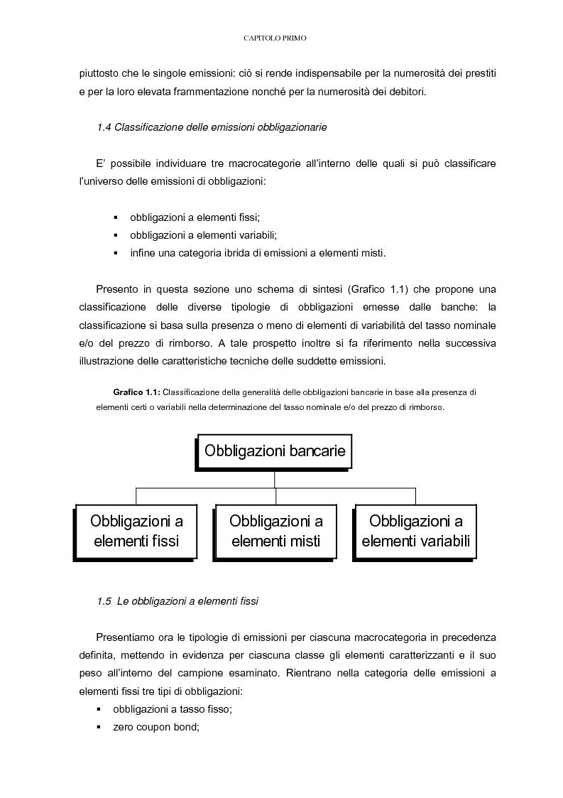 Anteprima della tesi: La raccolta tramite obbligazioni nella gestione delle banche: aspetti operativi e di mercato, Pagina 11