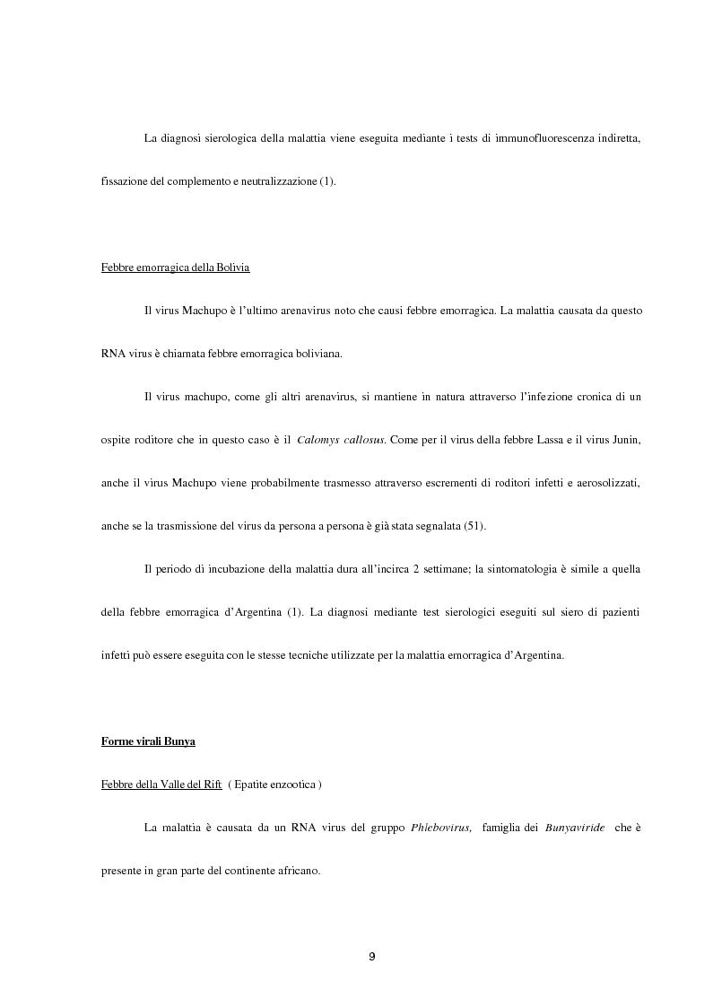 Anteprima della tesi: Aspetti epidemiologici della Crimean-Congo Haemorragic Fever, con particolare riferimento all'allevamento e alla macellazione dello struzzo, Pagina 7