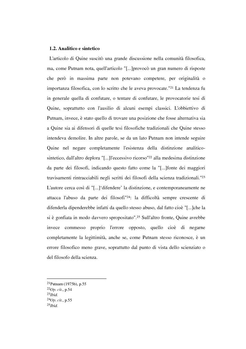 Anteprima della tesi: La filosofia della scienza di Hilary Putnam, Pagina 10