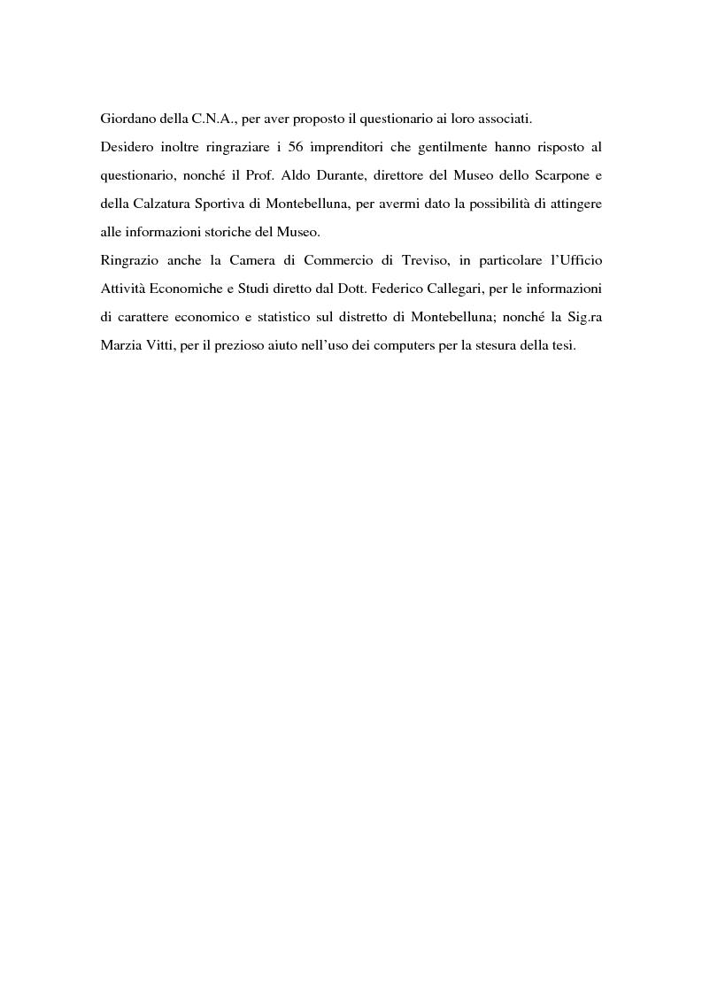 Anteprima della tesi: Come si formano gli imprenditori. Il caso di Montebelluna, Pagina 2