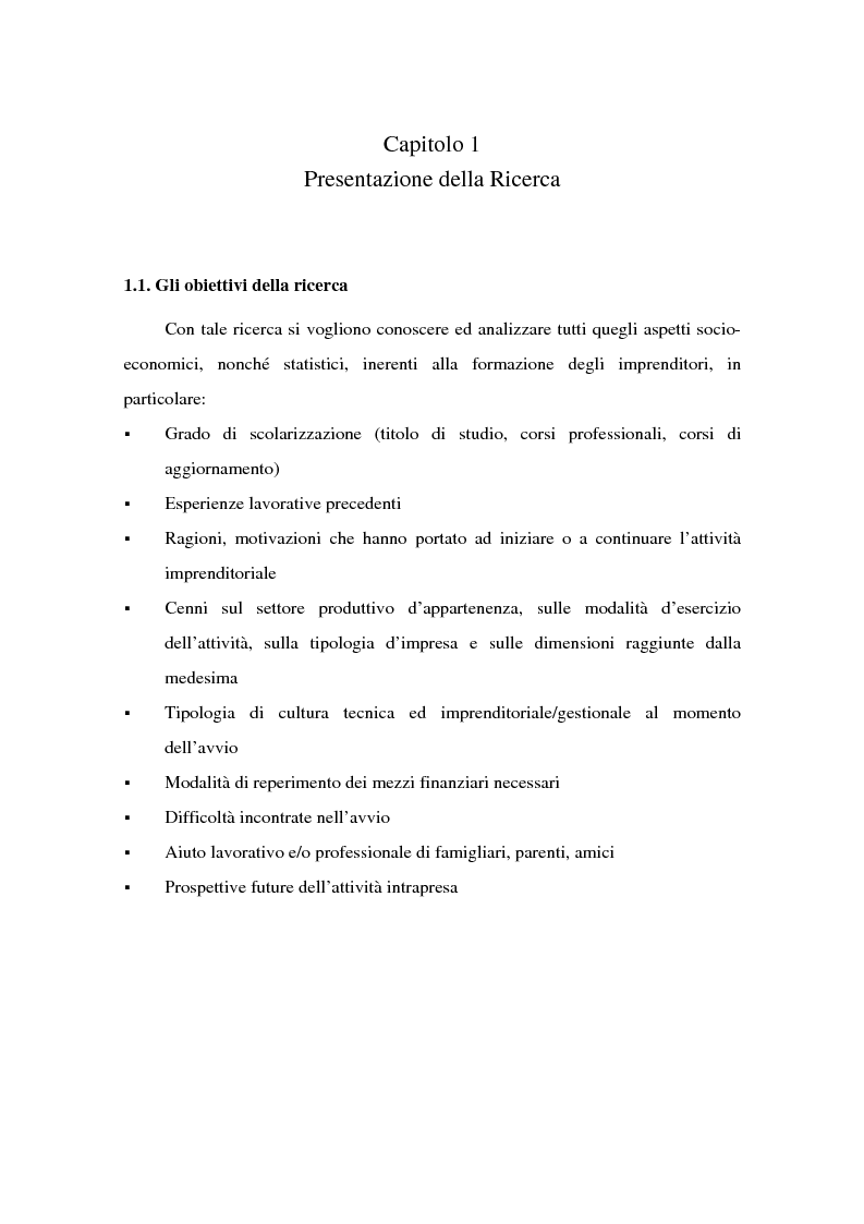 Anteprima della tesi: Come si formano gli imprenditori. Il caso di Montebelluna, Pagina 4
