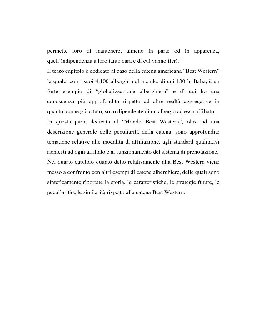 Anteprima della tesi: L'associazionismo volontario nel settore alberghiero, Pagina 2