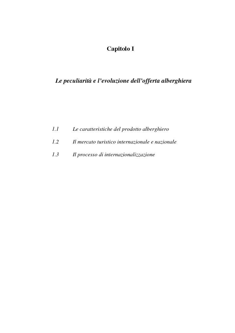 Anteprima della tesi: L'associazionismo volontario nel settore alberghiero, Pagina 3