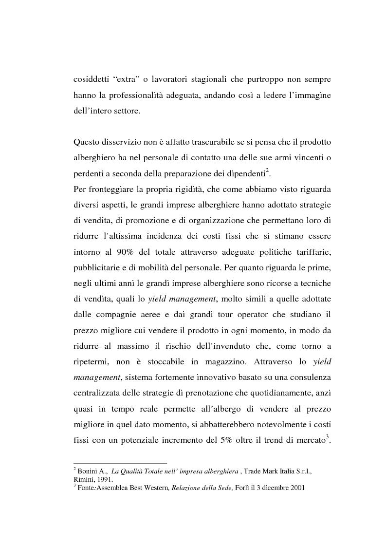 Anteprima della tesi: L'associazionismo volontario nel settore alberghiero, Pagina 5