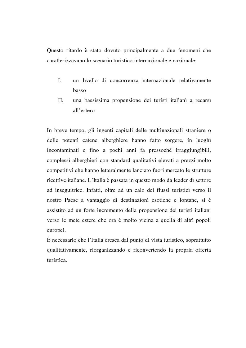 Anteprima della tesi: L'associazionismo volontario nel settore alberghiero, Pagina 9