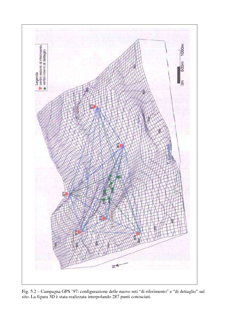 Anteprima della tesi: Applicazione di tecniche di geodesia spaziale e di geodimetria classica ed automatica allo studio delle deformazioni del suolo, Pagina 10