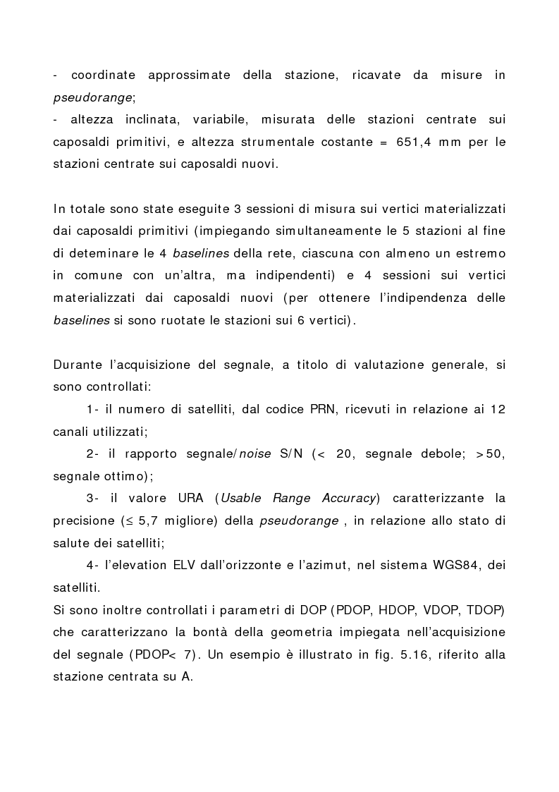 Anteprima della tesi: Applicazione di tecniche di geodesia spaziale e di geodimetria classica ed automatica allo studio delle deformazioni del suolo, Pagina 7