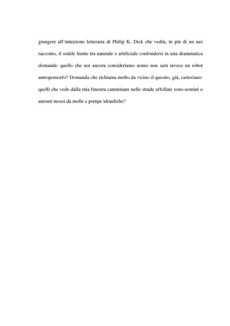 Anteprima della tesi: Alcuni aspetti della metamorfosi tecnologica dell'uomo, Pagina 4
