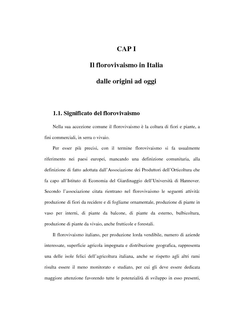 Anteprima della tesi: Le dinamiche competitive nel settore dei prodotti da giardinaggio - Il caso Abitunai srl, Pagina 1
