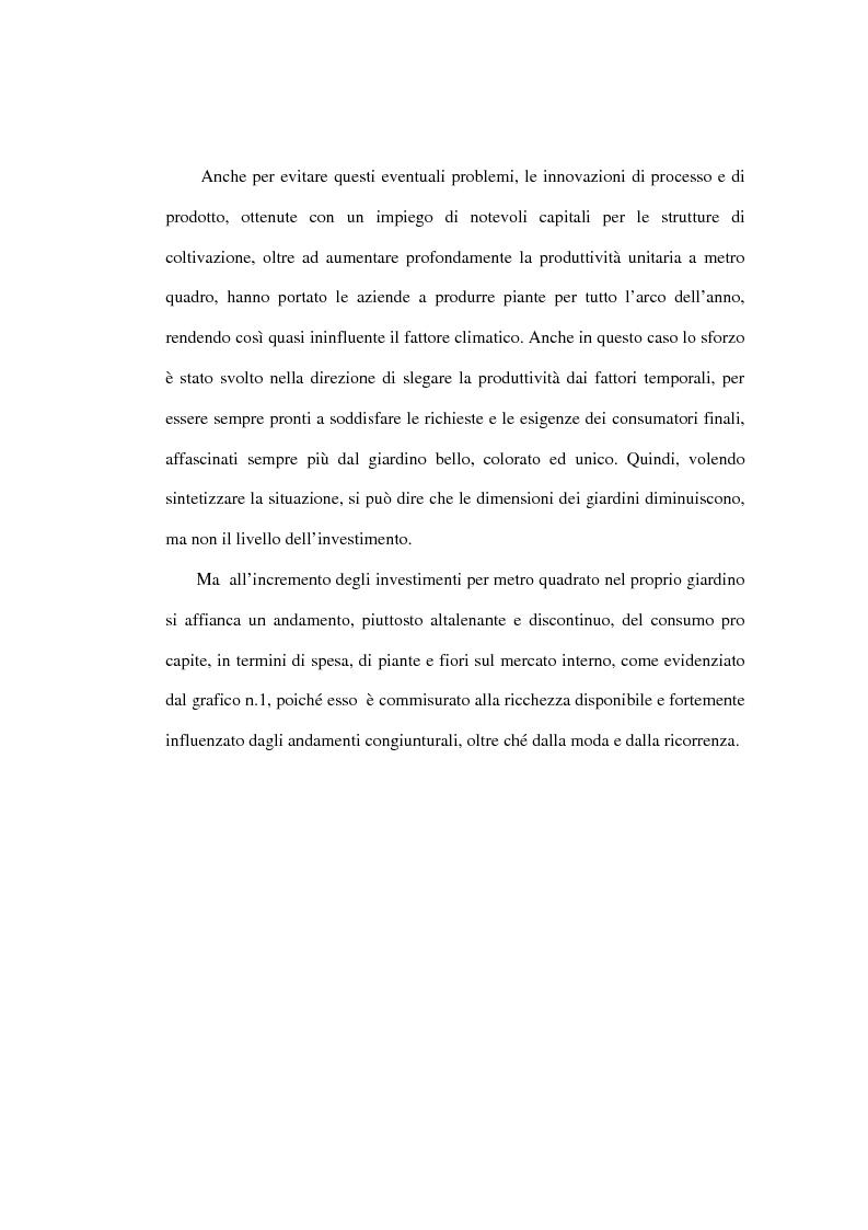 Anteprima della tesi: Le dinamiche competitive nel settore dei prodotti da giardinaggio - Il caso Abitunai srl, Pagina 13