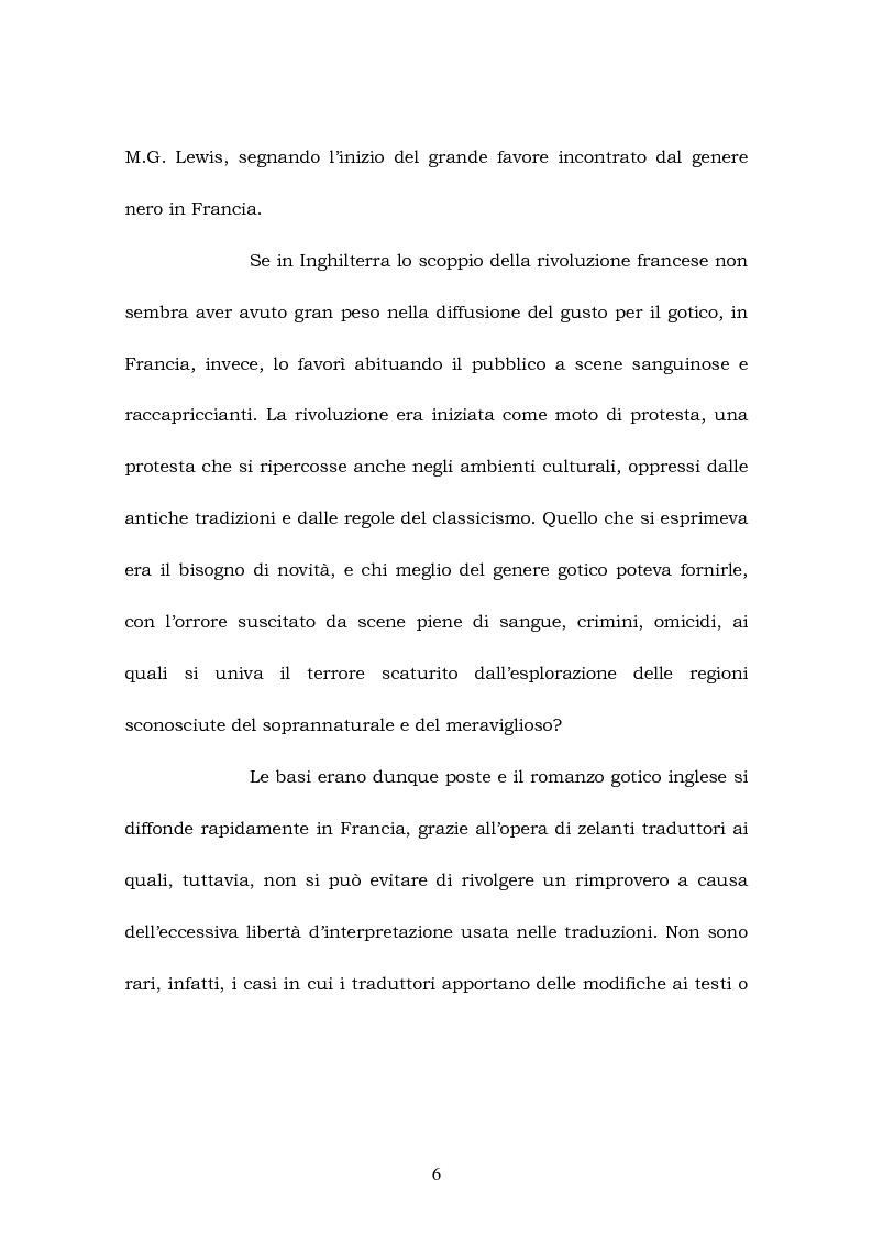 Anteprima della tesi: Melmoth the Wanderer di Charles Robert Maturin e Melmoth Reconciliè di Honorè de Balzac, Pagina 5