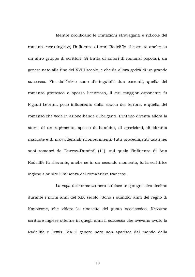 Anteprima della tesi: Melmoth the Wanderer di Charles Robert Maturin e Melmoth Reconciliè di Honorè de Balzac, Pagina 9
