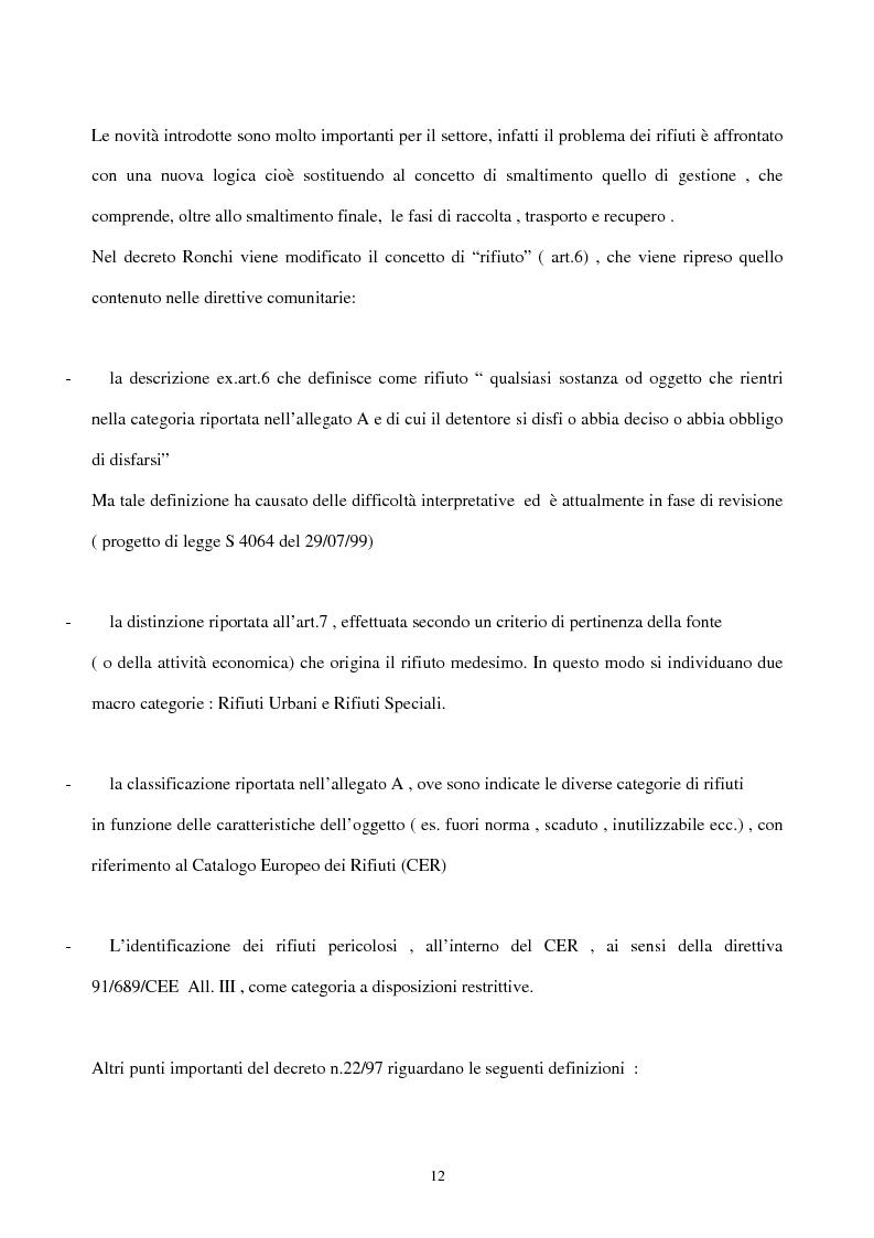Anteprima della tesi: L'industria del riciclo dei rifiuti solidi. Il caso del legno, Pagina 7