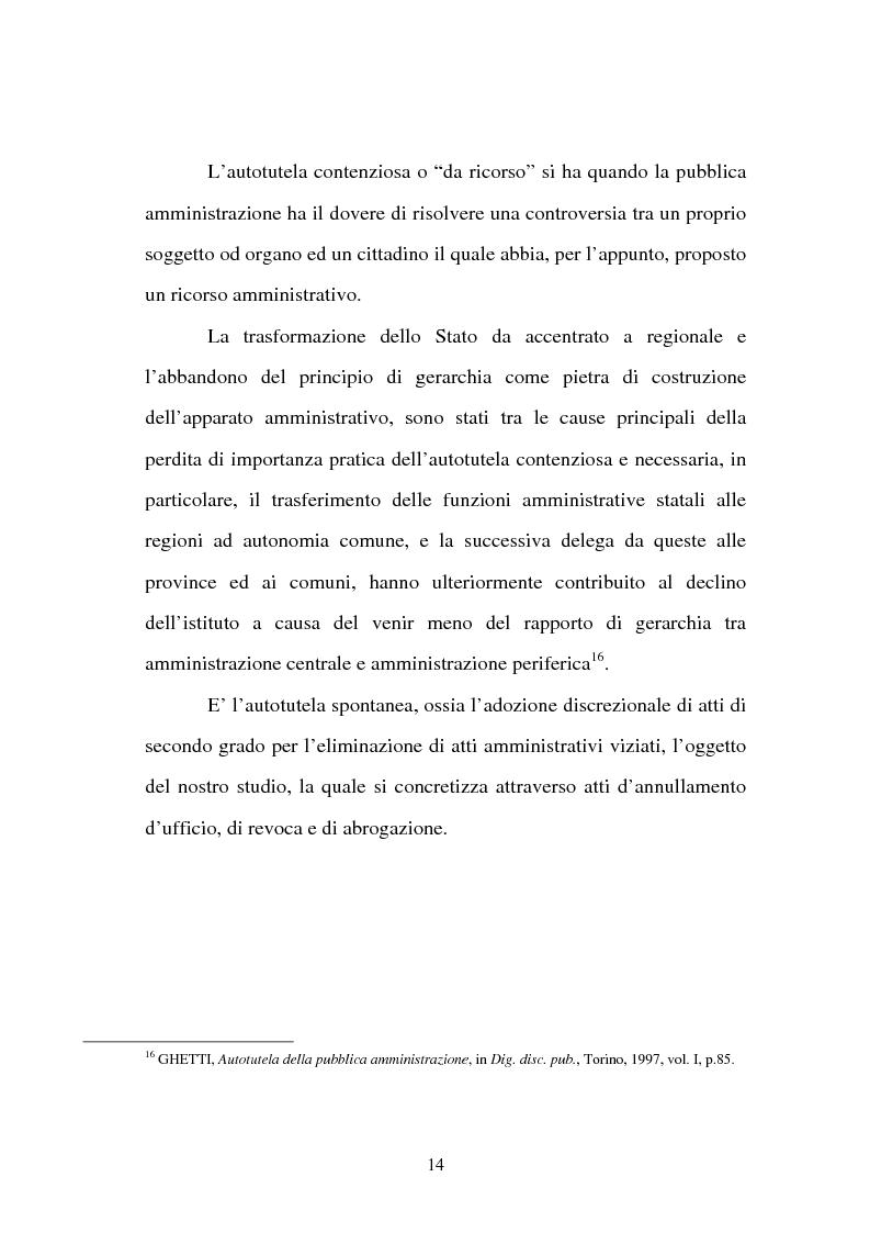 Anteprima della tesi: L'autotutela nell'ordinamento tributario, Pagina 9