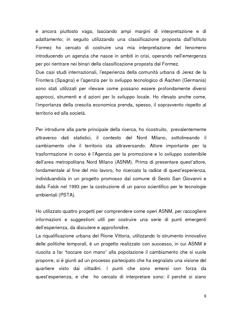 Anteprima della tesi: Dopo l'innovazione. interpretazioni e scenari di cambiamento per l'Asnm, Pagina 3
