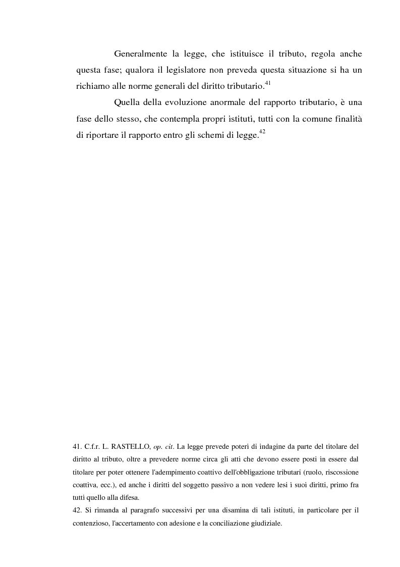Anteprima della tesi: Accertamento con adesione e conciliazione giudiziale nel sistema tributario, Pagina 15