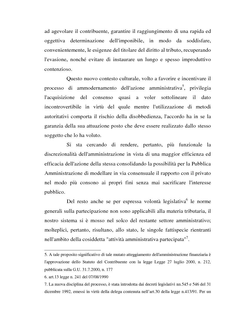 Anteprima della tesi: Accertamento con adesione e conciliazione giudiziale nel sistema tributario, Pagina 3
