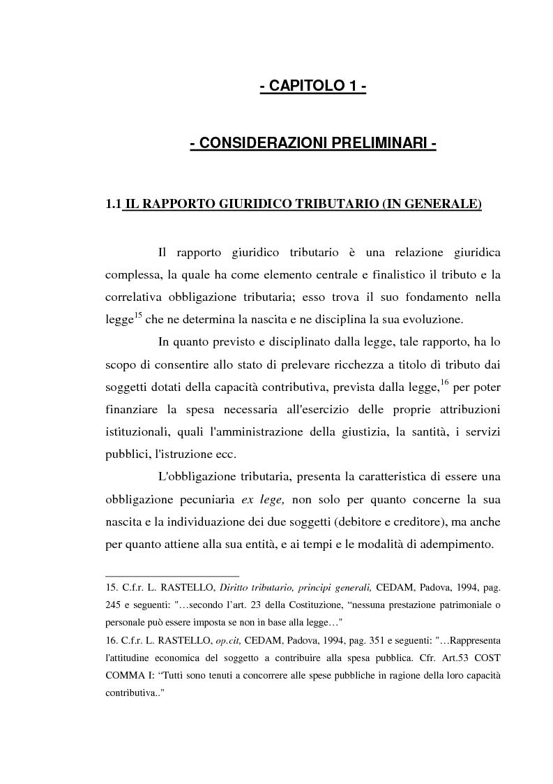 Anteprima della tesi: Accertamento con adesione e conciliazione giudiziale nel sistema tributario, Pagina 7