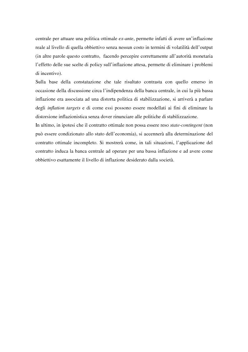 Anteprima della tesi: Il problema della credibilità delle politiche pubbliche, Pagina 10