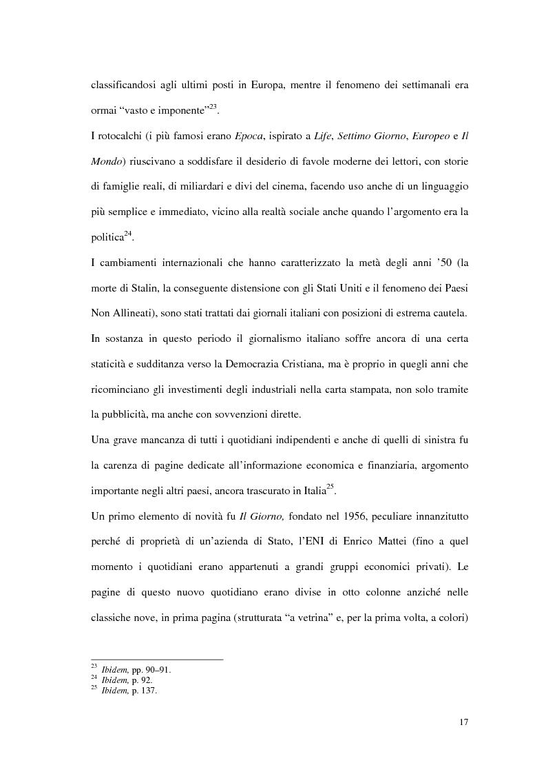 Anteprima della tesi: Il G8 a Genova nel confronto tra giornalismo tradizionale e informazione on-line, Pagina 13