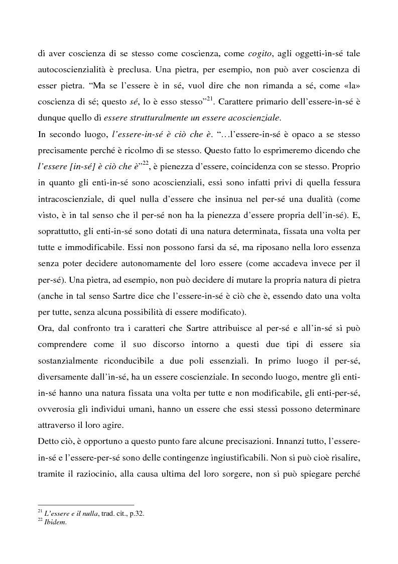 Anteprima della tesi: Il rapporto tra l'io e gli altri in Heidegger e Sartre, Pagina 10