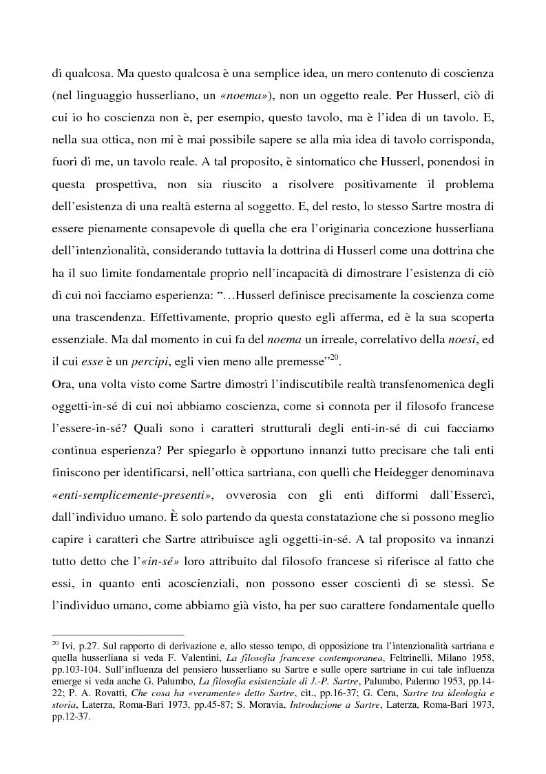 Anteprima della tesi: Il rapporto tra l'io e gli altri in Heidegger e Sartre, Pagina 9