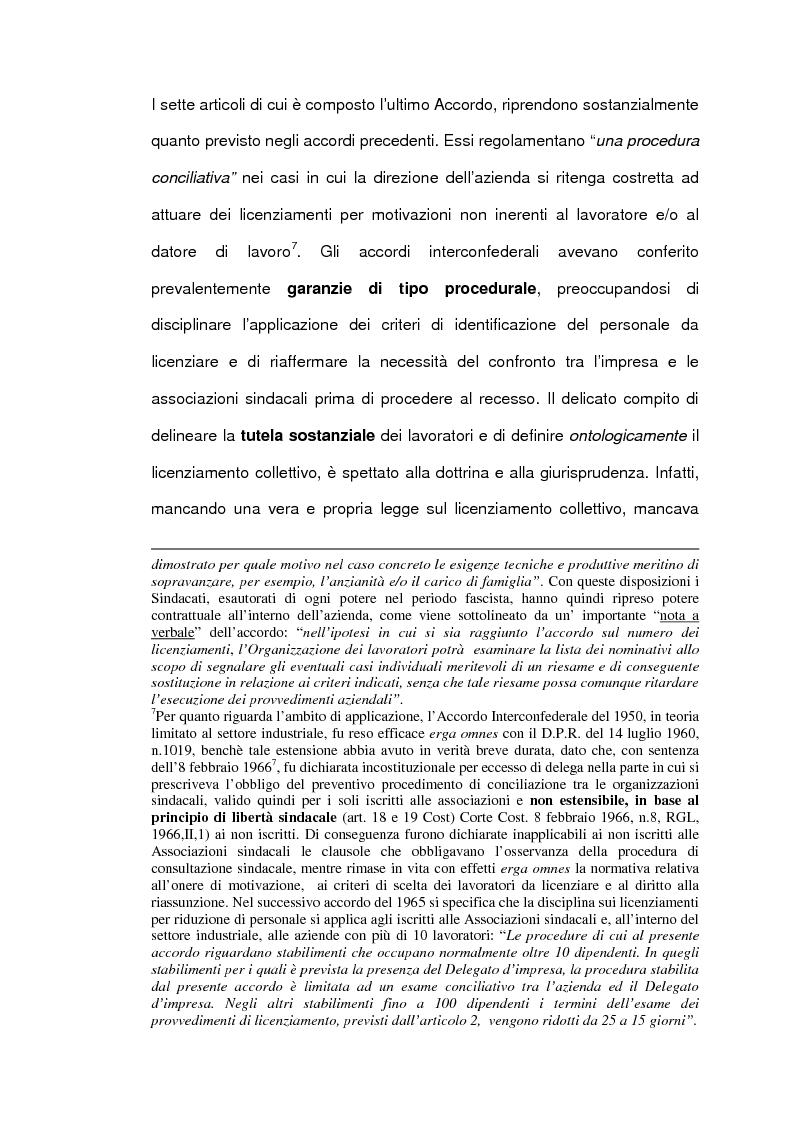 Anteprima della tesi: Personale in esubero in azienda, Pagina 11