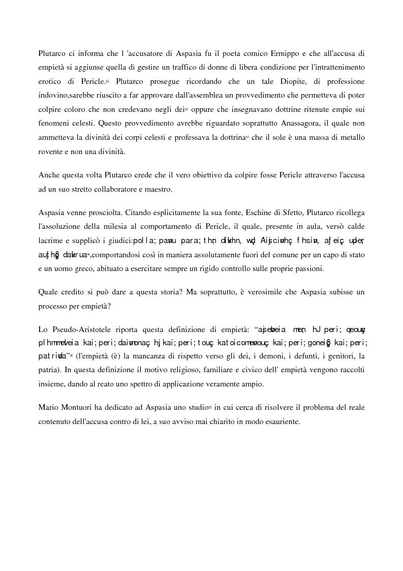 Anteprima della tesi: A scuola da Aspasia: uomini e donne tra retorica e politica nell'Atene del V secolo a.C., Pagina 12