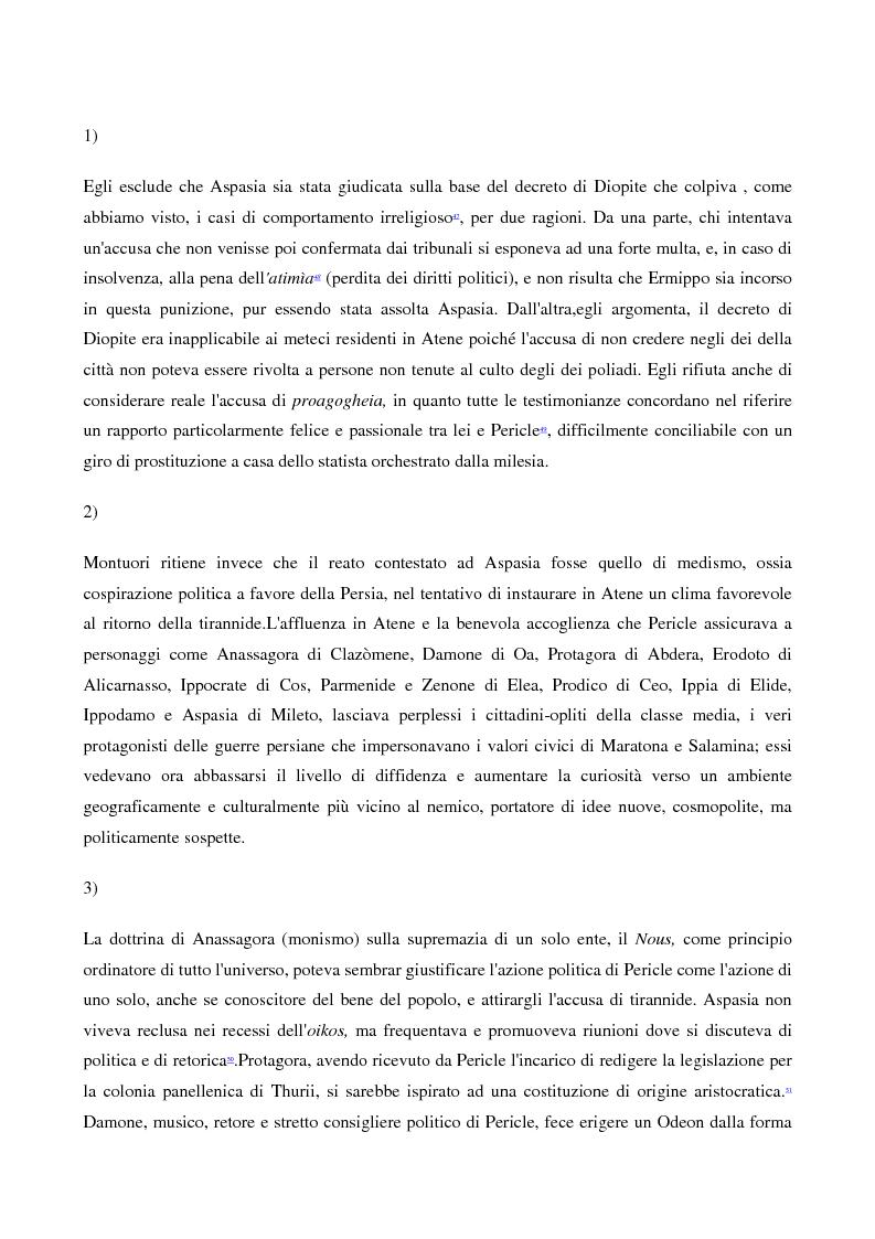 Anteprima della tesi: A scuola da Aspasia: uomini e donne tra retorica e politica nell'Atene del V secolo a.C., Pagina 13