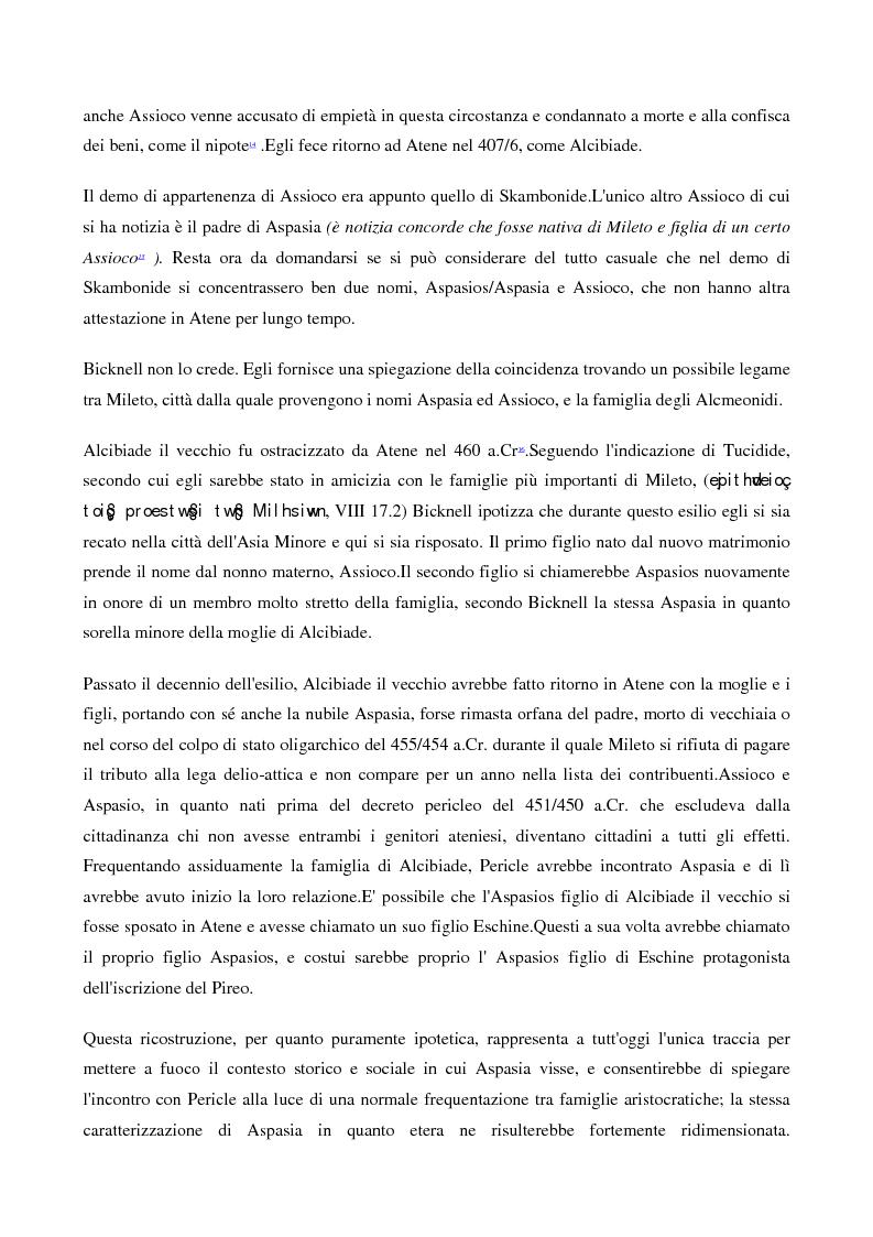 Anteprima della tesi: A scuola da Aspasia: uomini e donne tra retorica e politica nell'Atene del V secolo a.C., Pagina 5