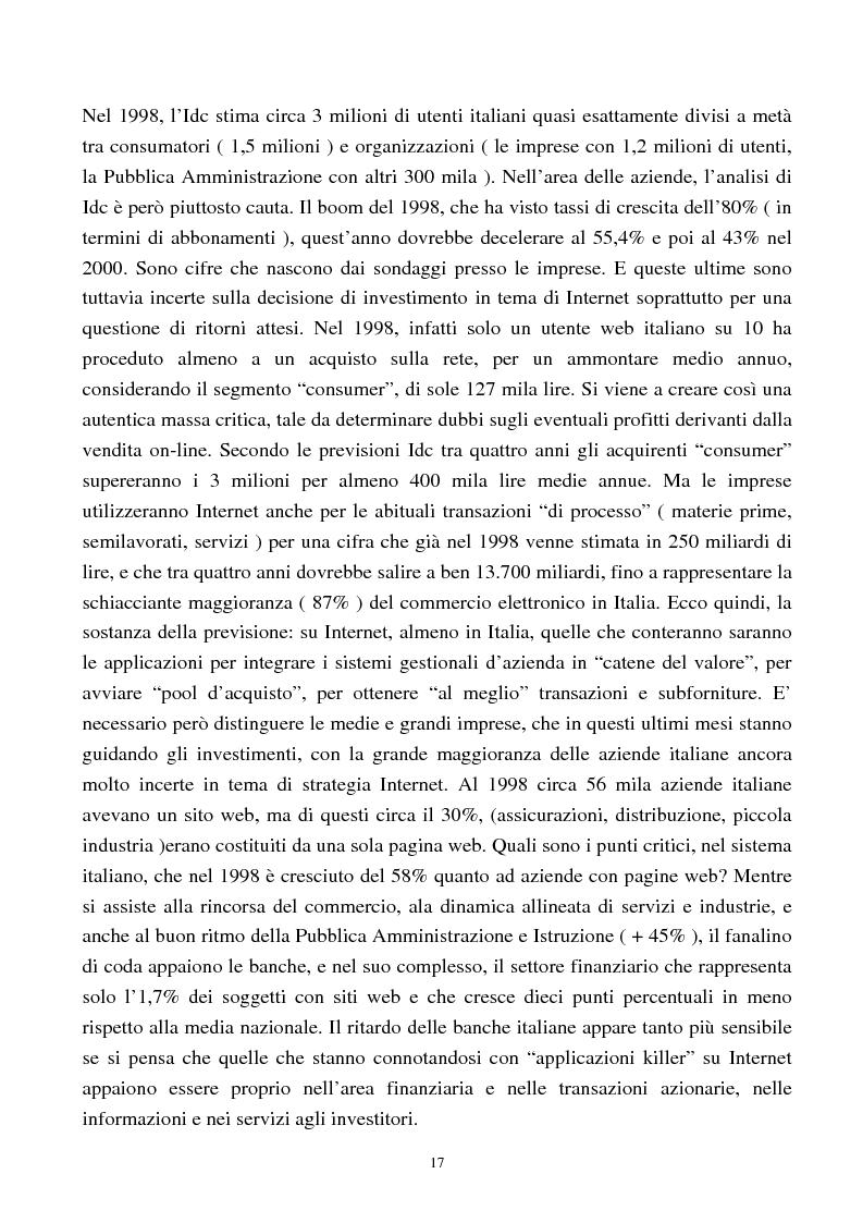 Anteprima della tesi: Internet come nuovo strumento di comunicazione e di vendita, Pagina 12