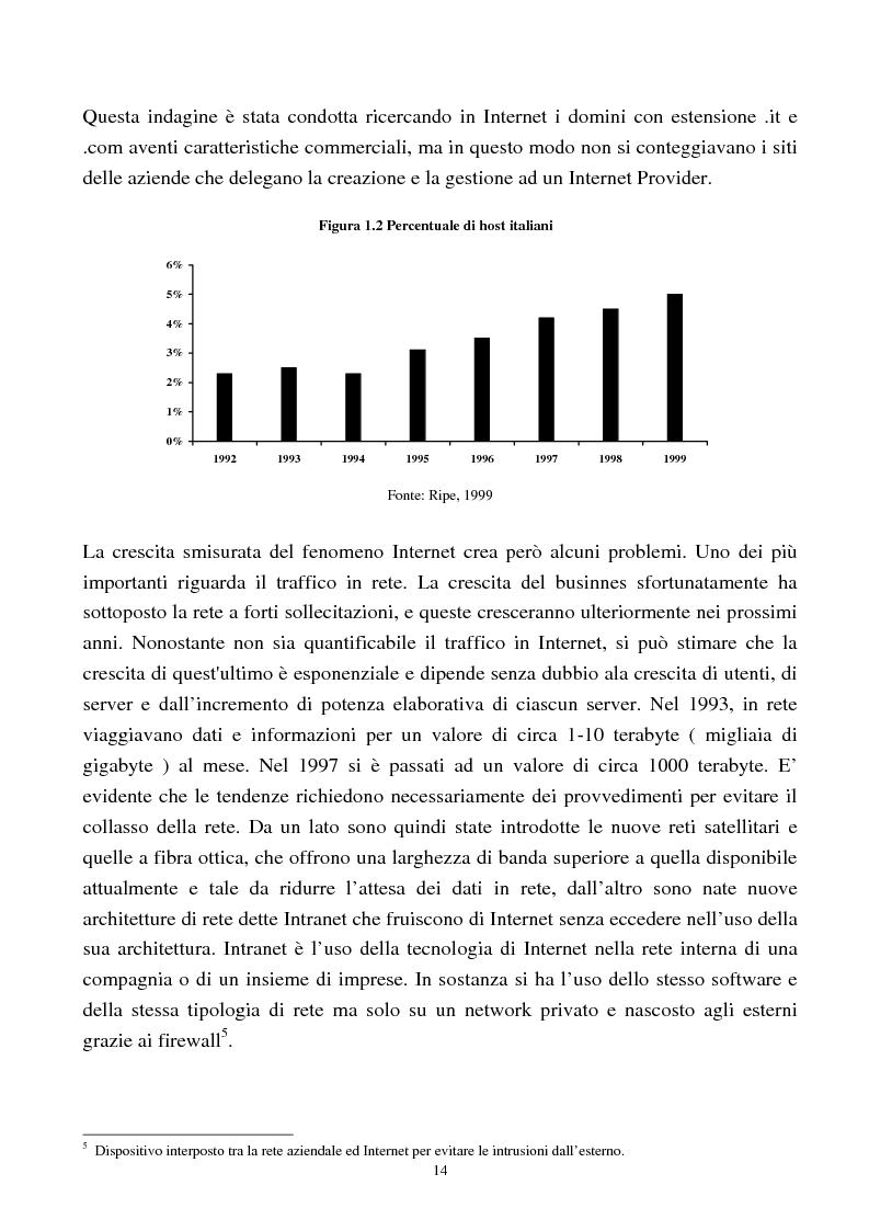 Anteprima della tesi: Internet come nuovo strumento di comunicazione e di vendita, Pagina 9