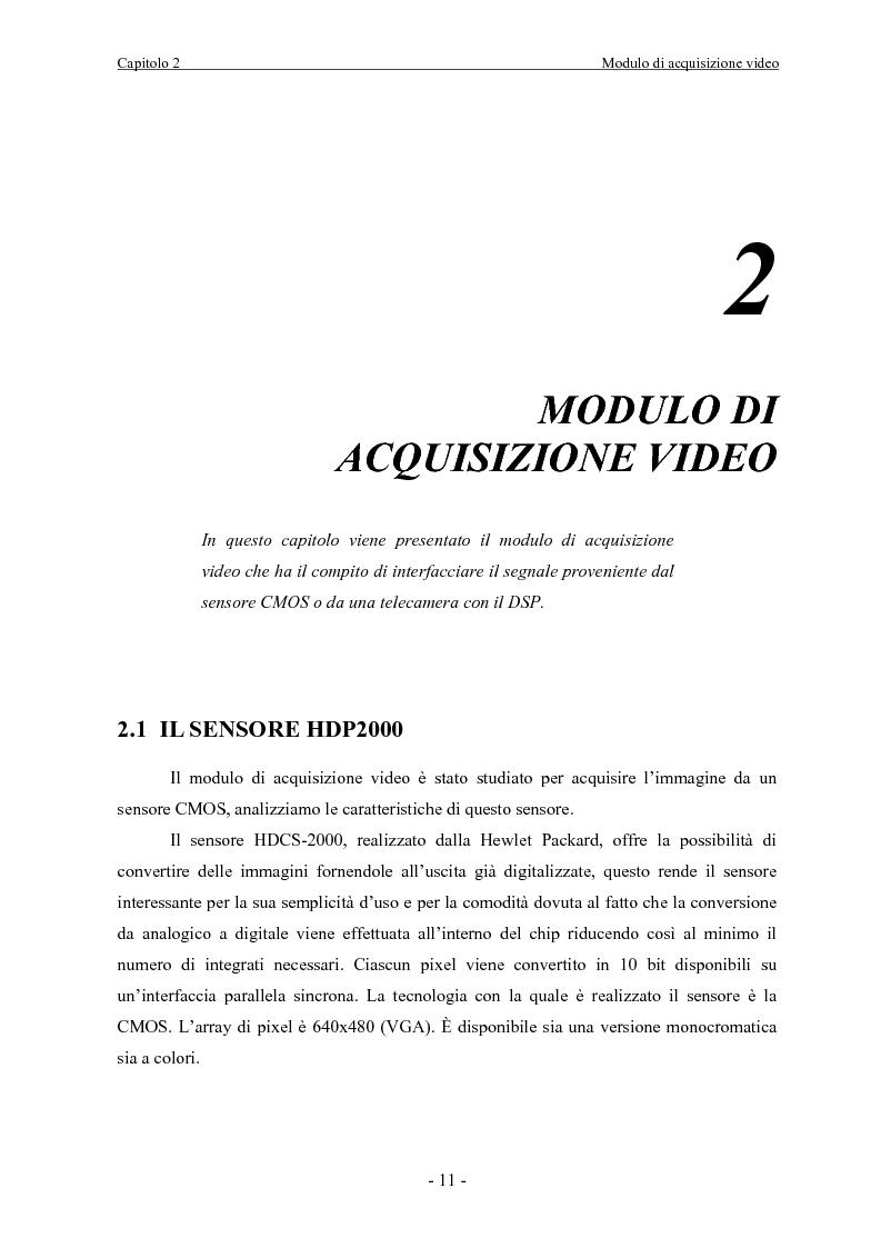 Anteprima della tesi: Scheda di acquisizione segnale video con DSP floating Point, Pagina 11