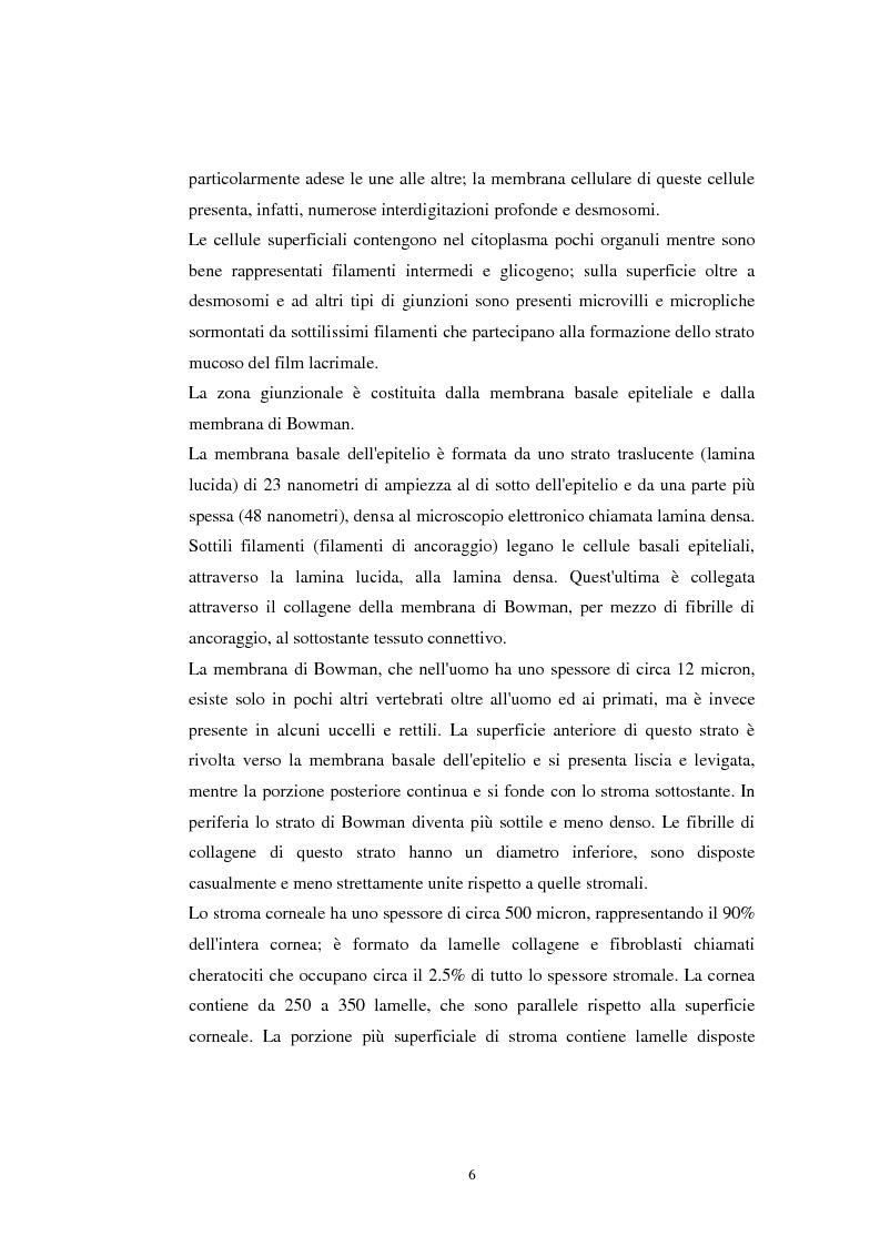 Anteprima della tesi: Lasik nel trattamento dell'ipermetropia. Aspetti clinici e medico-legali, Pagina 4